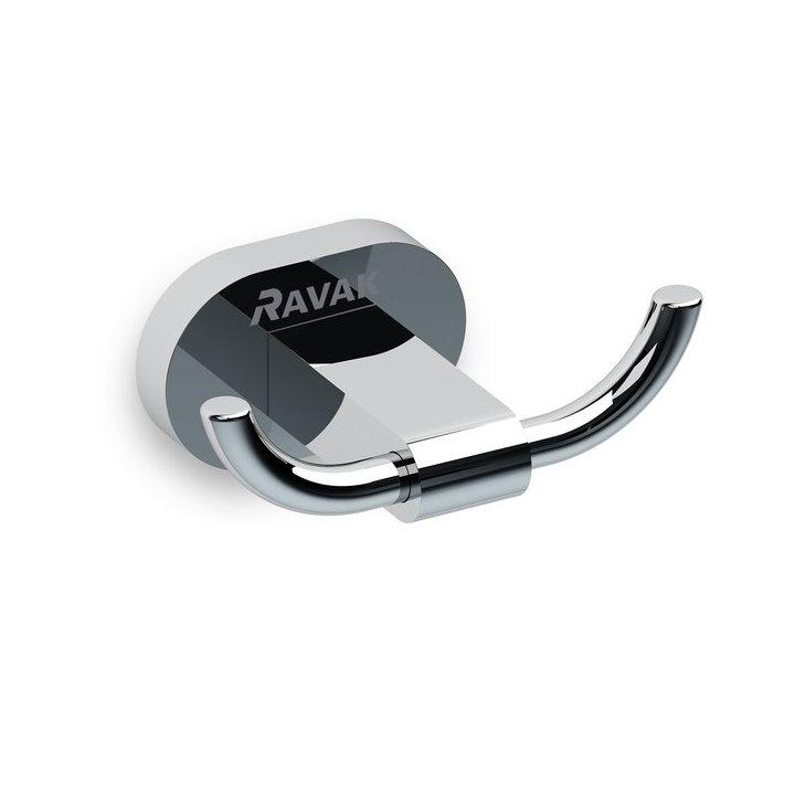Купить двойной крючок Ravak Chrome CR 100.00 хром